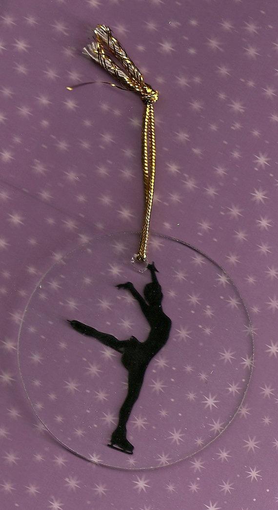 love it!!!! Figure Skating ornament.