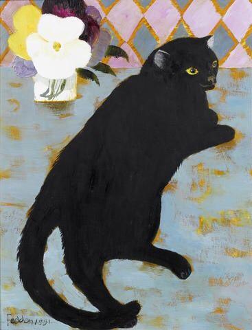Mary Fedden - Lulu, 1991