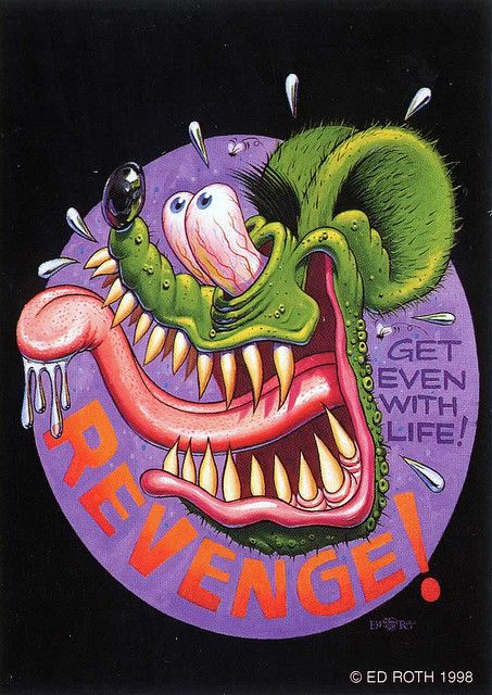 Image result for rat revenge paintings