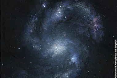 Astronomers discover oldest spiral galaxy in the universe ( video) - CSMonitor.com