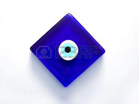 Evil Eye amuleton Stok Fotoğraf