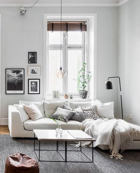 Best 25+ White Sofa Decor Ideas On Pinterest | White Couch Decor, Ottoman  Sofa And Black Sofa Living Room Part 95