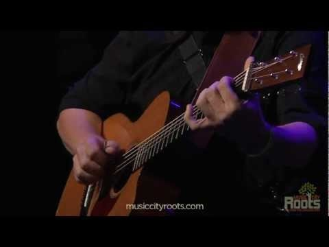 Pete Huttlinger performing While My Guitar Gently Weeps - Eleanor Rigsby at Music City Roots live from the Loveless Cafe on 8.01.2012