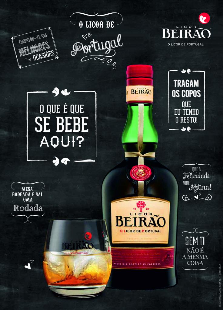 Publicidade | Licor Beirão | Ardósia