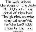 Psalm 37The Lord, Psalms 37 23 24, Lord Direction, God, Inspiration, Quotes, Faith, Psalms 372324, Bible Verses