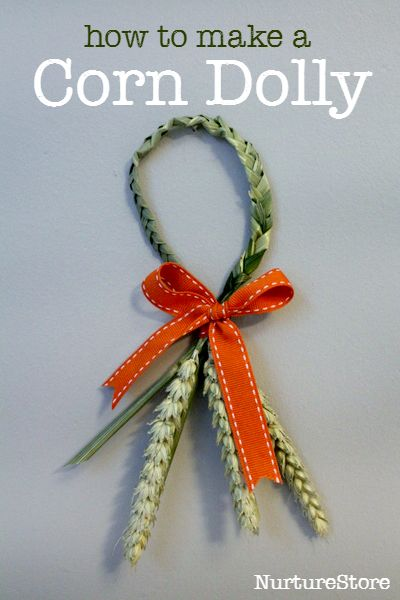 how to make a corn dolly craft for harvest