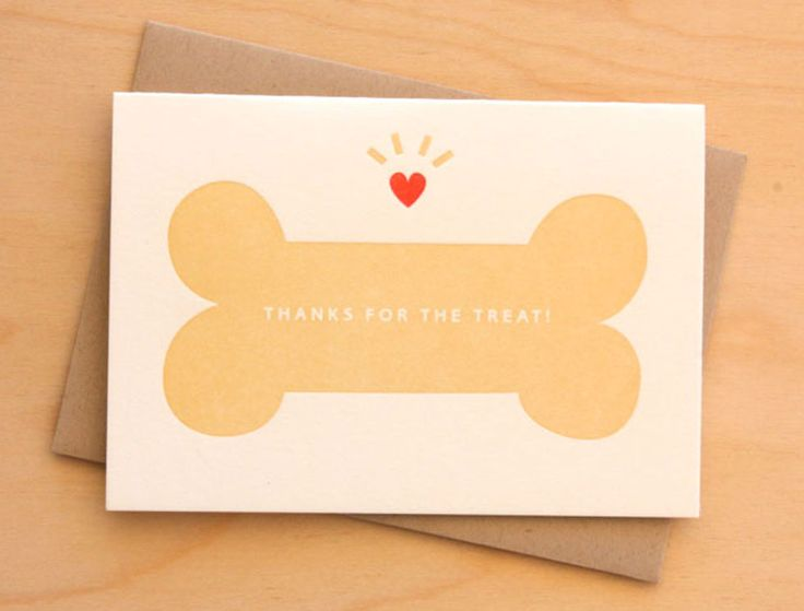Thanks for the Treat!: Card