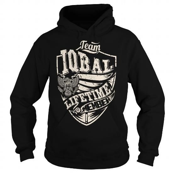 I Love Last Name, Surname Tshirts - Team IQBAL Lifetime Member Eagle T-Shirts