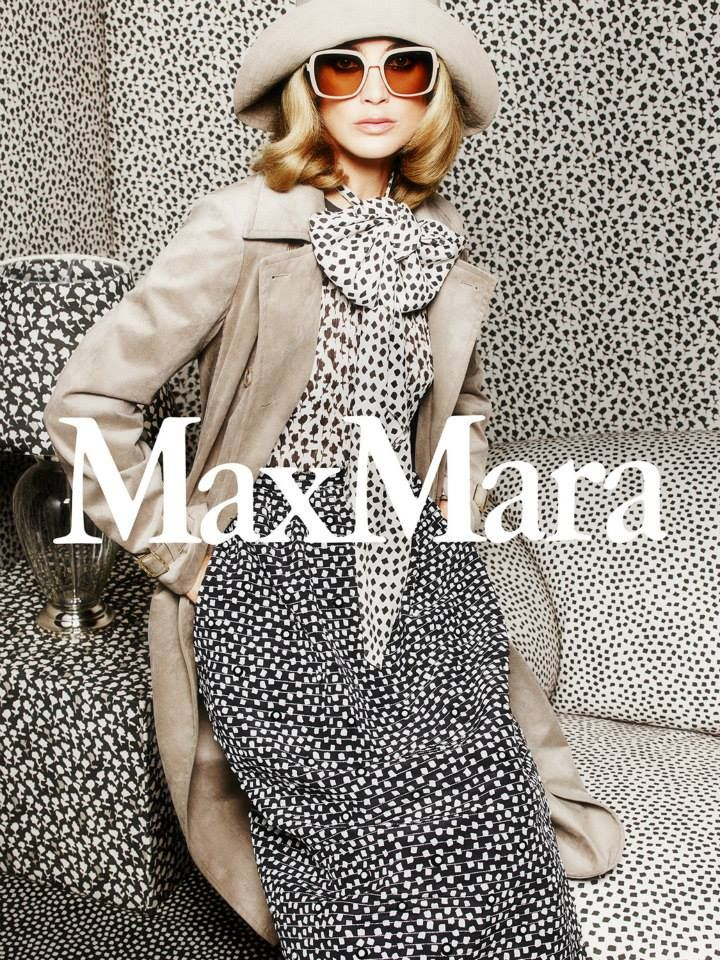 Max Mara S/S 2015 Model: Carolyn Murphy Photographer: Mario Sorrenti