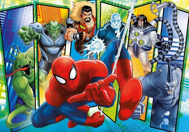 Clementoni Kinderpuzzle 104 Maxi Teile Marvel: Spiderman vs Sinister 6 (23704) in Spielzeug, Puzzles & Geduldspiele, Puzzles | eBay! | http://nextpuzzle.de/detailview/puzzle-spiderman-maxi/216