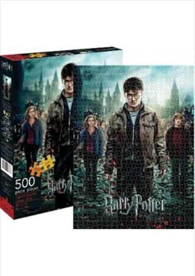 Harry Potter & The Deathly Hallows Part 2 Puzzle 500 pieces