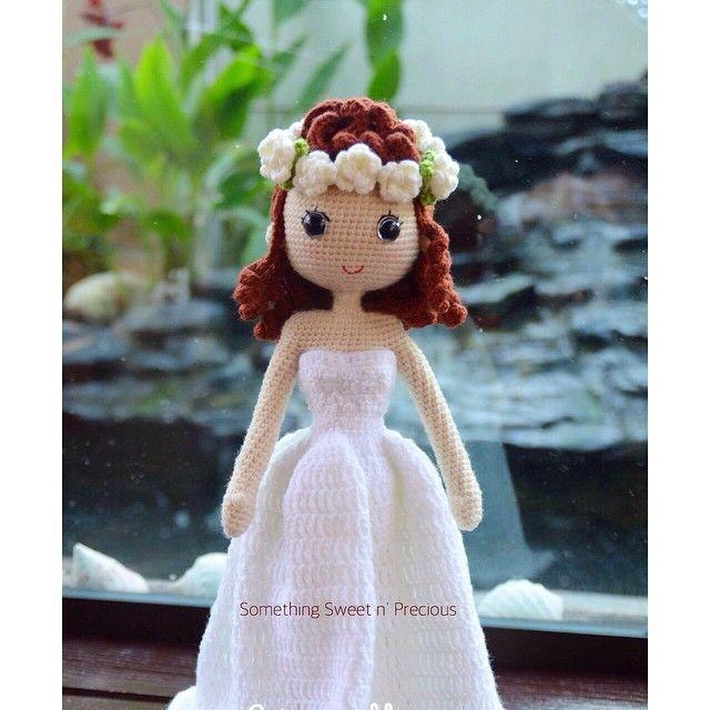 Sharing My earlier work ~Custom made wedding doll❤️