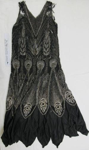 1920's beaded evening dress by Dusty_Modzel