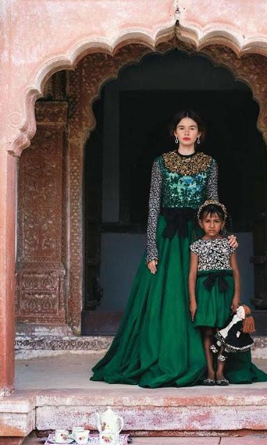 Sabyasatchi in Vogue India.