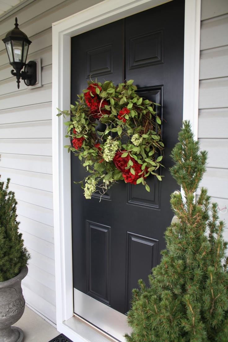Front door christmas wreaths - Wreath For Front Door