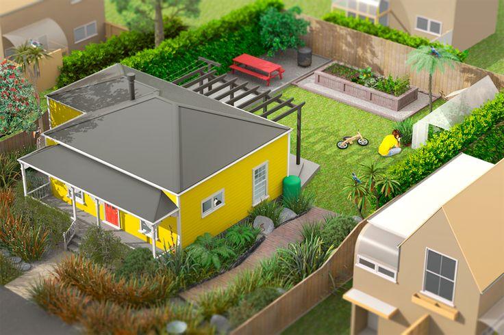 Wellington City Council advice on how to encourage backyard biodiversity.