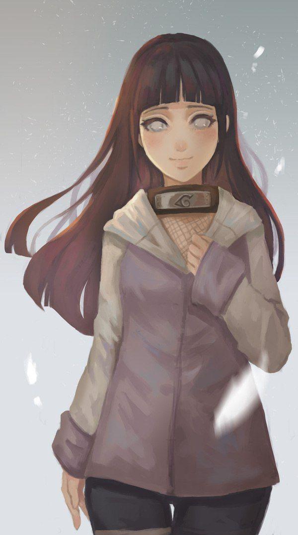 Hinata - Digital art - Naruto                                                                                                                                                                                 Mais