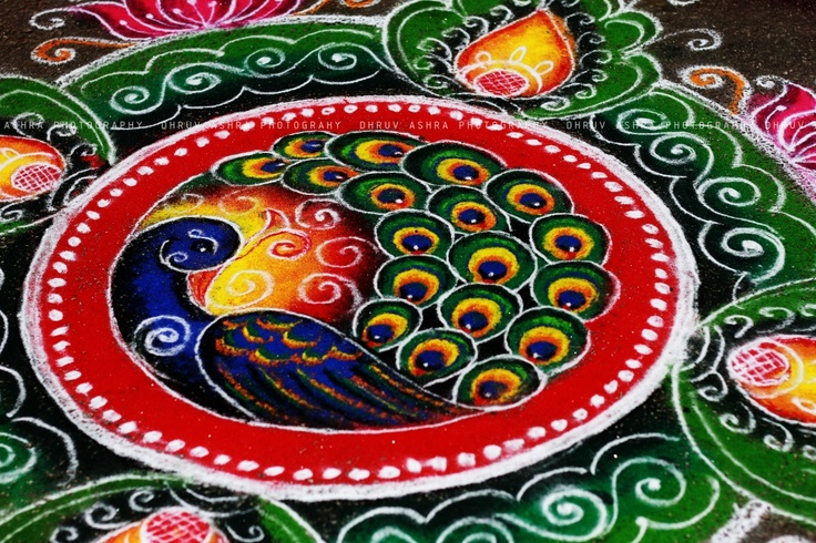 51 best images about colours on pinterest for Floor rangoli design