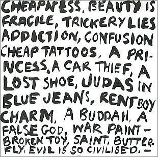 """For Sale - Boy George Cheapness & Beauty Sampler UK Promo  CD single (CD5 / 5"""") - See this and 250,000 other rare & vintage vinyl records, singles, LPs & CDs at http://eil.com"""