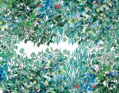 "Check out new work on my @Behance portfolio: ""Spižirna 1902 - Wallpaper design"" http://be.net/gallery/55850949/Spizirna-1902-Wallpaper-design"