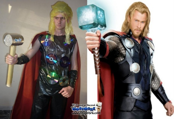 I shouldn't laugh because they truly tried, but this is kinda funny! Cosplay Fail