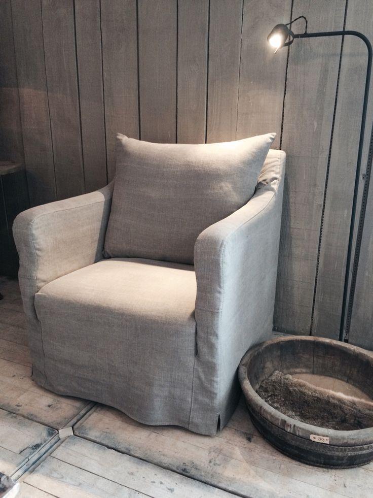 25 beste idee n over fauteuil hoes op pinterest luie jongen stoel en luilak - Linnen stoel ...