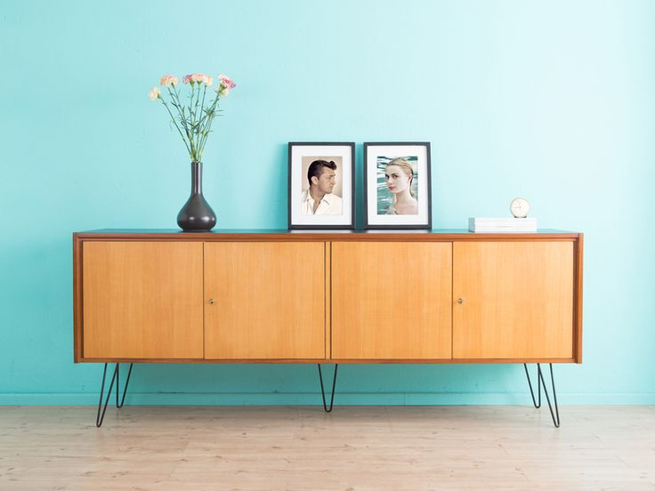 hochwertiges sideboard kommode 60er jahre 50er von mid century friends auf lm 7. Black Bedroom Furniture Sets. Home Design Ideas