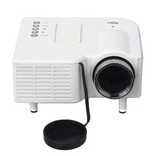 Excelvan UC28 Mini Vidéoprojecteur LED Projecteur Portable 320 x 240 Cinéma Théâtre PC Ordinateurs Portables VGA / USB / SD / AV / HDMI…