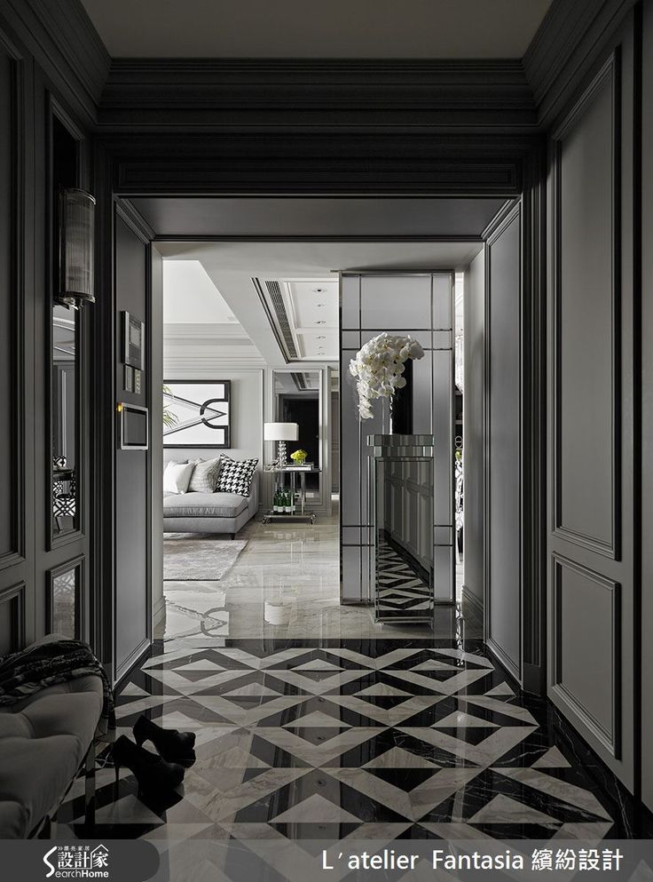 INTERIOR | Neoclassical Beauty - 41평 네오클래식컬 아파트 인테리어 :: FabD(팹디)