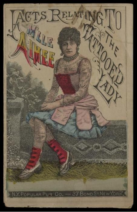 91 best images about vintage tattooed people on pinterest for Tattoo freak costume