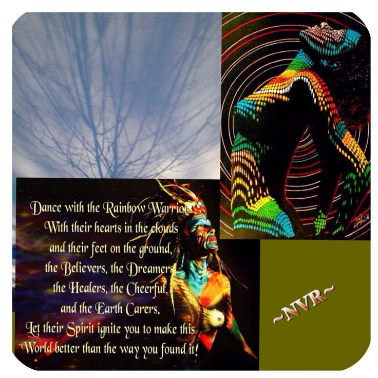 Warriors Of The Rainbow Tribe: Rainbows And Warriors