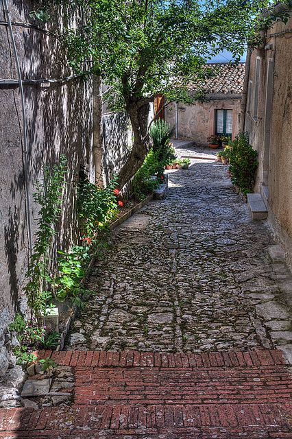 Erice, Italy, Island of Sicily