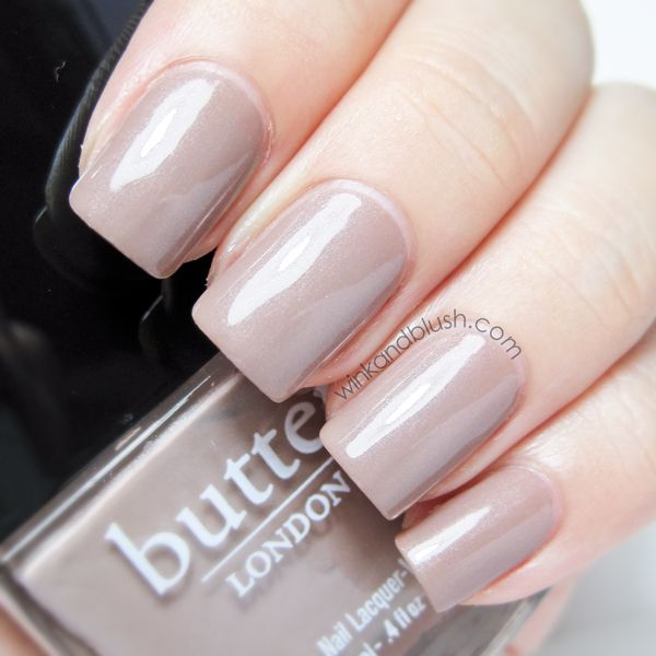 Butter London Yummy Mummy. The best neutral nail polish ever. Mannequin hands... hands down.