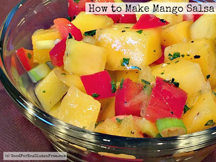 mango salsa gluten free (With images) Gluten free