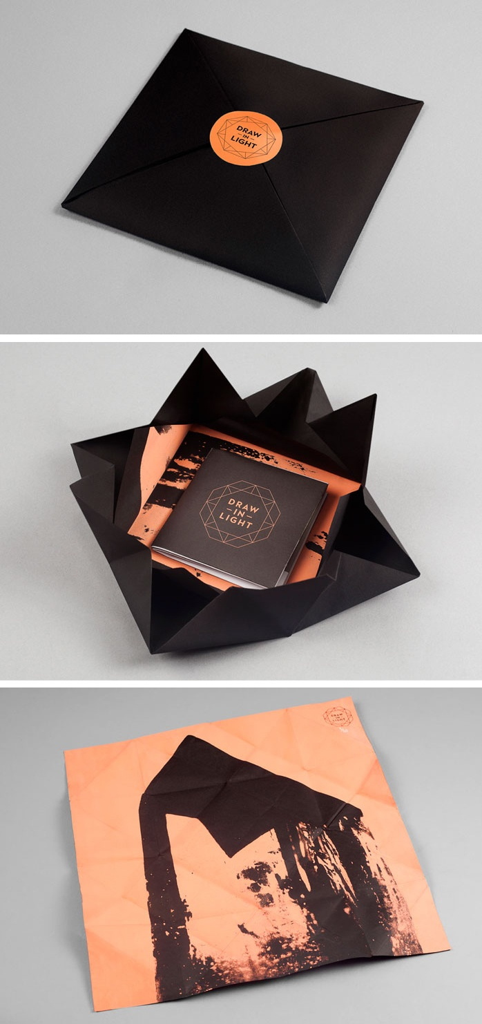 Draw in Light book packaging