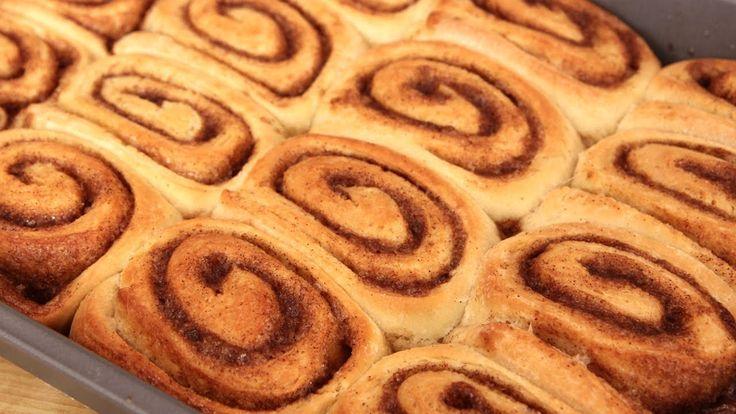 Homemade Cinnamon Rolls Recipe - Laura Vitale - Laura in the Kitchen Epi...