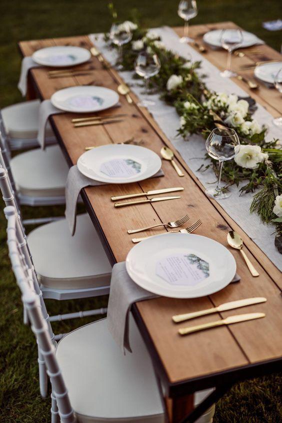 Wonderful 49 Impressive Wedding Table Setting Ideas