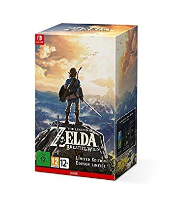 The Legend of Zelda: Breath of the Wild Limited Edition (Nintendo Switch)