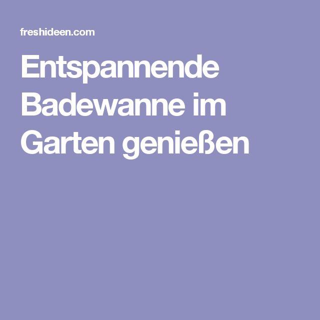 25+ great ideas about badewanne garten on pinterest, Gartengerate ideen