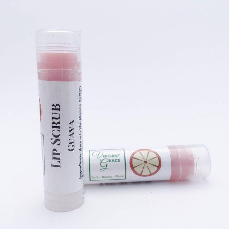 Guava Lip Scrub .15 oz