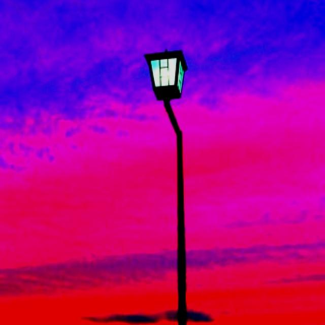 street lamp.  / created by nekotaro