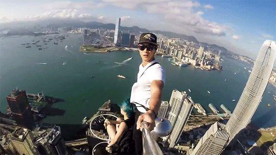 Hong Kong City Selfie Most Extreme Selfies • Page 3 of 6 • BoredBug