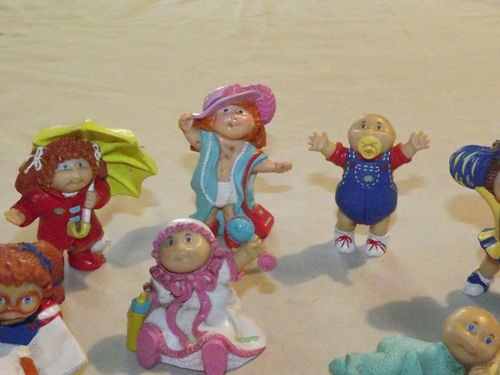 Still Have Some Of These Vintage Toy 1984 11 Plastic Cabbage Patch Kids Figures Ebay Cabbage Patch Kids Old School Toys Vintage Toys