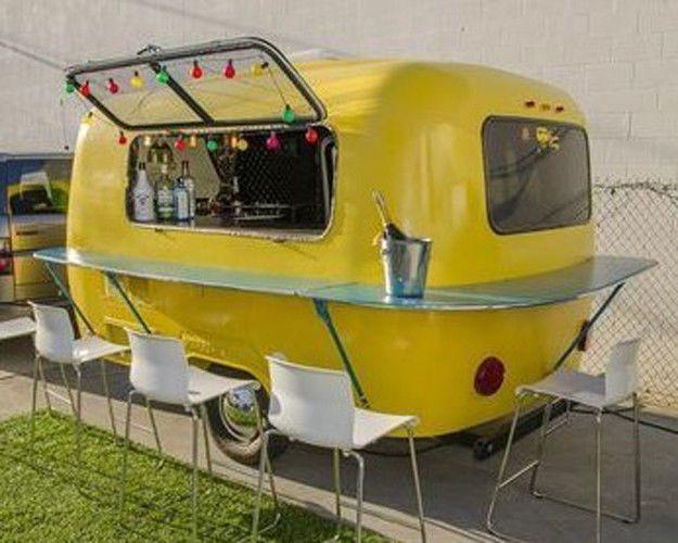 Scamp trailer, Camper, Camping