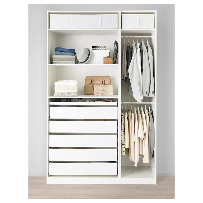 Ikea garderobeskap hjørne