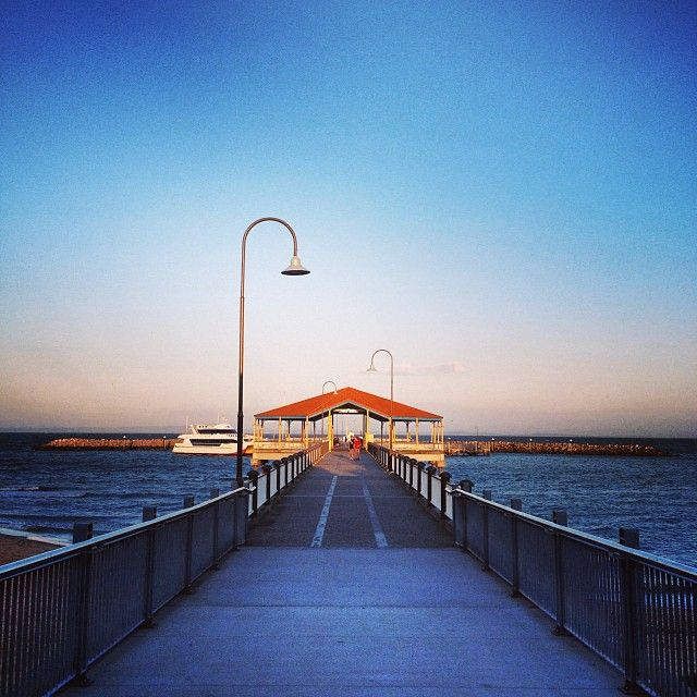 Redcliffe Pier in Redcliffe, QLD