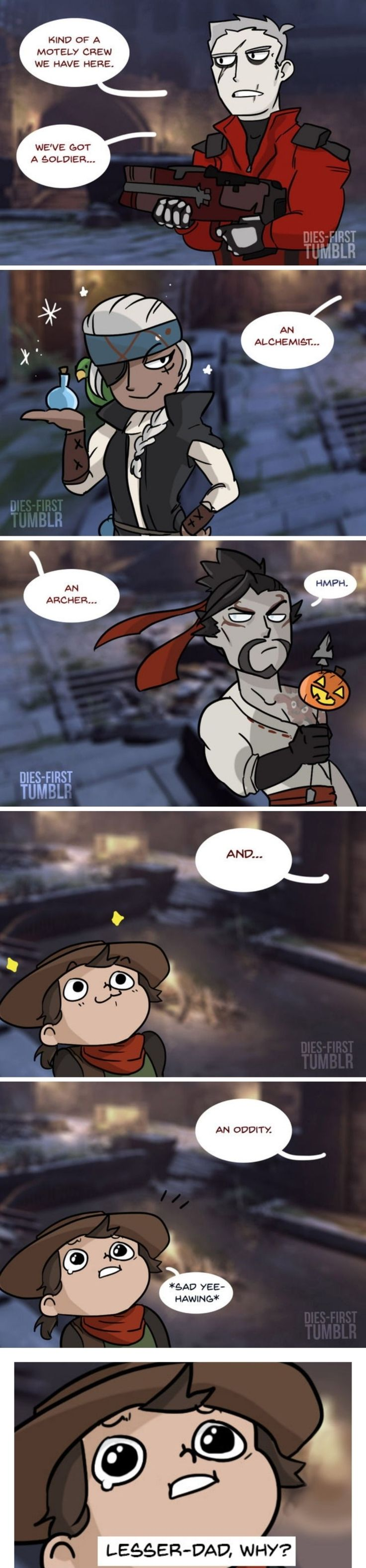 Overwatch comic - Halloween Event