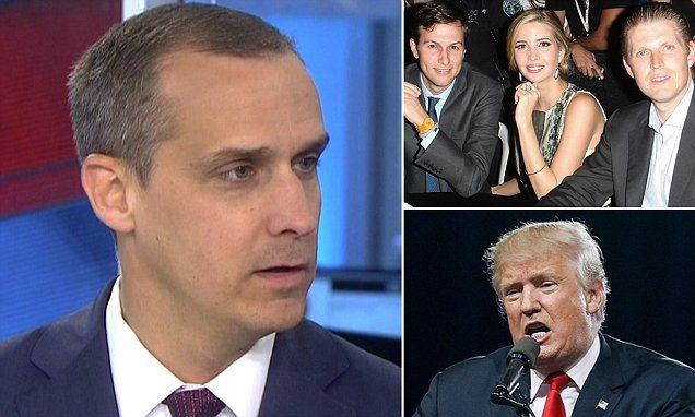 The Trump train's general-election strategy will move forward without Corey Lewandowski, known for contentious media appearances and fierce loyalty.