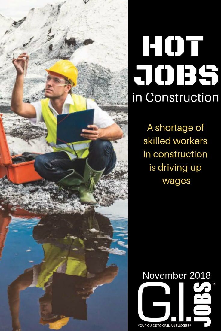Hot Jobs A List Of The Highest Paying Jobs In Construction