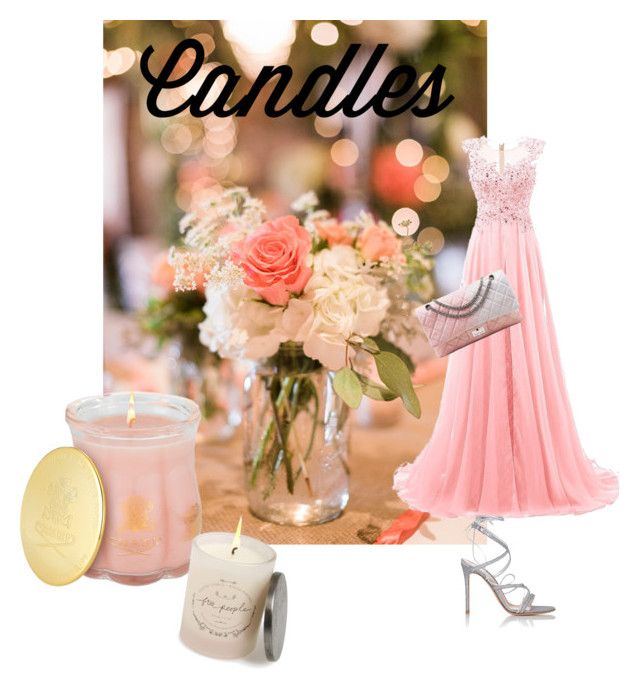 Fashion in candle colours!! by magdalenamm on Polyvore featuring polyvore beauty Chanel Gianvito Rossi Creed Free People